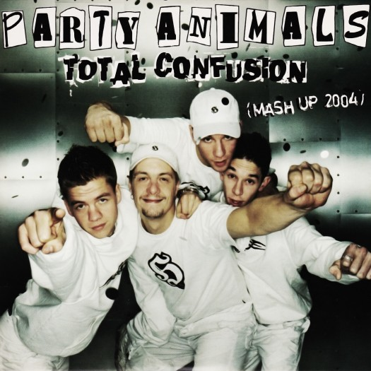 Album cover for Total Confusion