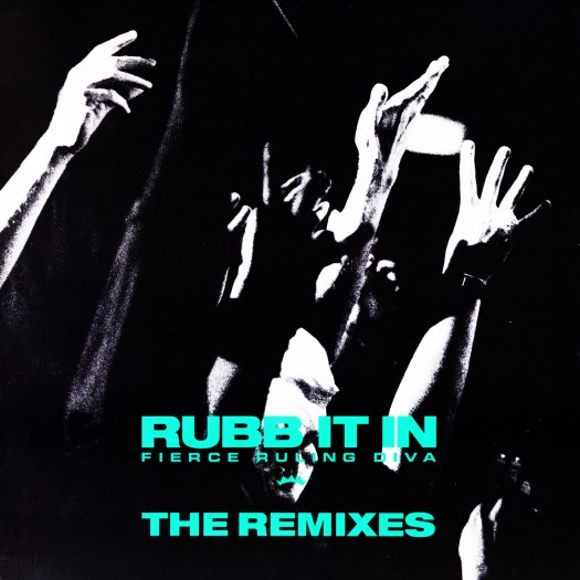Album cover for Rubb It In - The Remixes